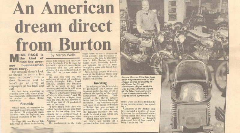An American Dream Direct From Burton