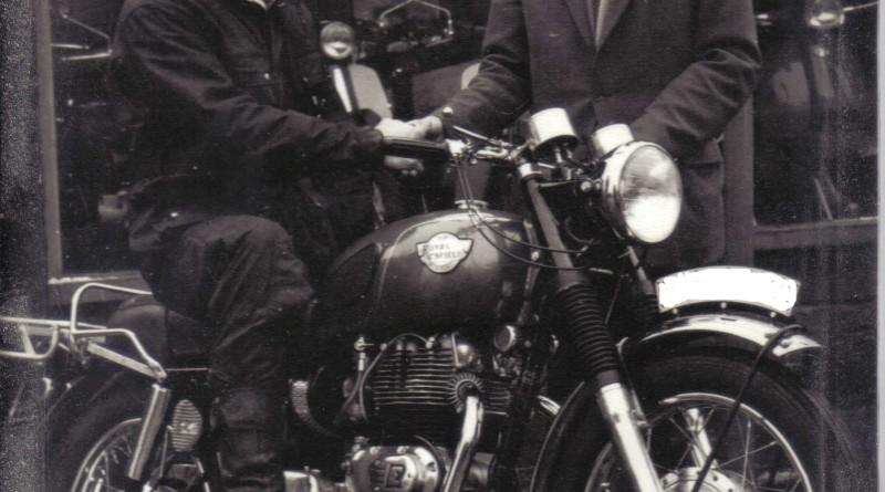 Johnny Britain Royal Enfield Interceptor