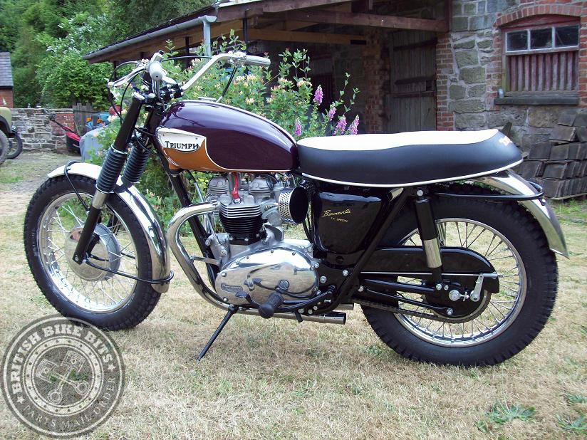 Triumph Bonneville T120tt 1967 Classic Bike History