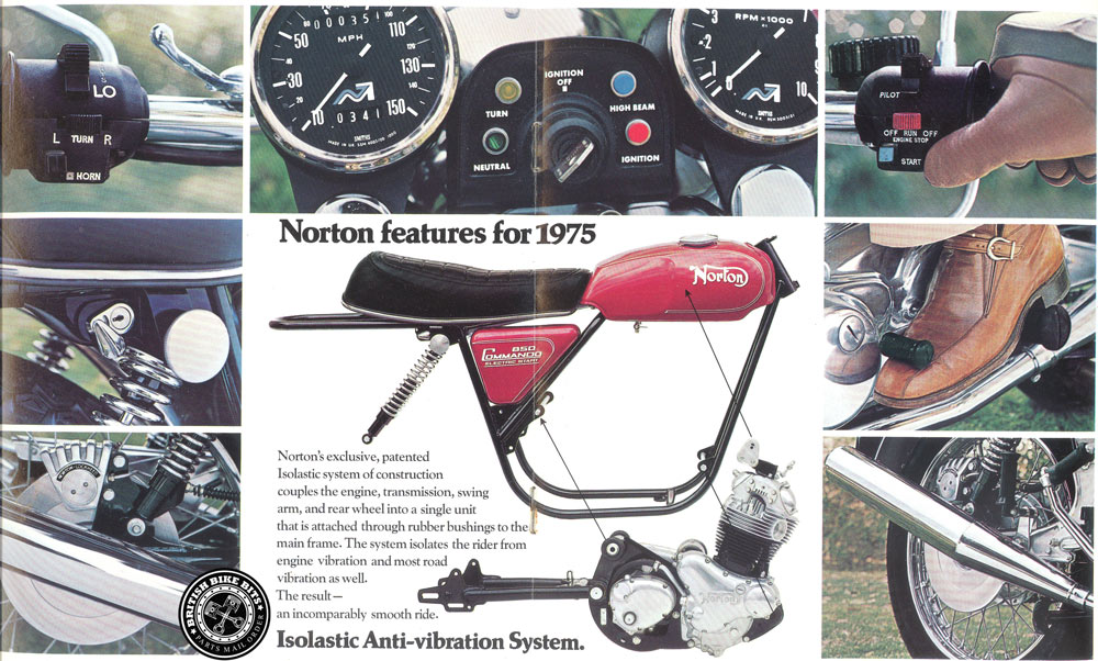 Norton Features for 1975
