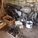 1959 BSA C15 complete but in bits For Sale