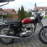 Triumph T140V New Not restored !!!